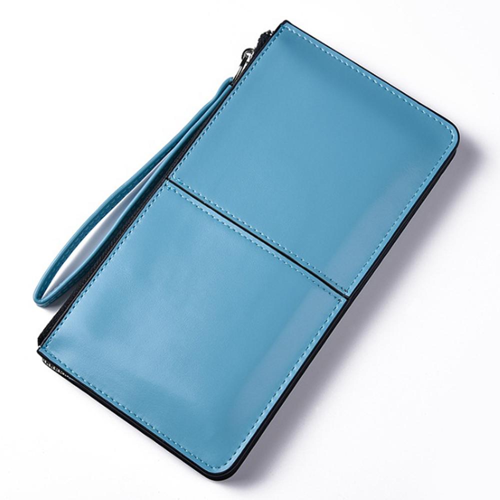 칼큰 클러치백 겸용 장지갑(스카이) [제작 대량 도매 로고 인쇄 레이저 마킹 각인 나염 실크 uv 포장 공장 문의는 네이뽕]