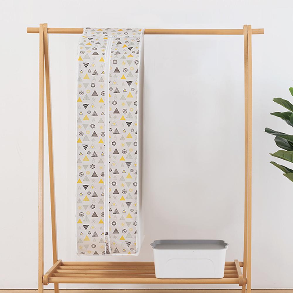 PEVA 삼각 도트 대용량 옷커버 (110cm) [제작 대량 도매 로고 인쇄 레이저 마킹 각인 나염 실크 uv 포장 공장 문의는 네이뽕]
