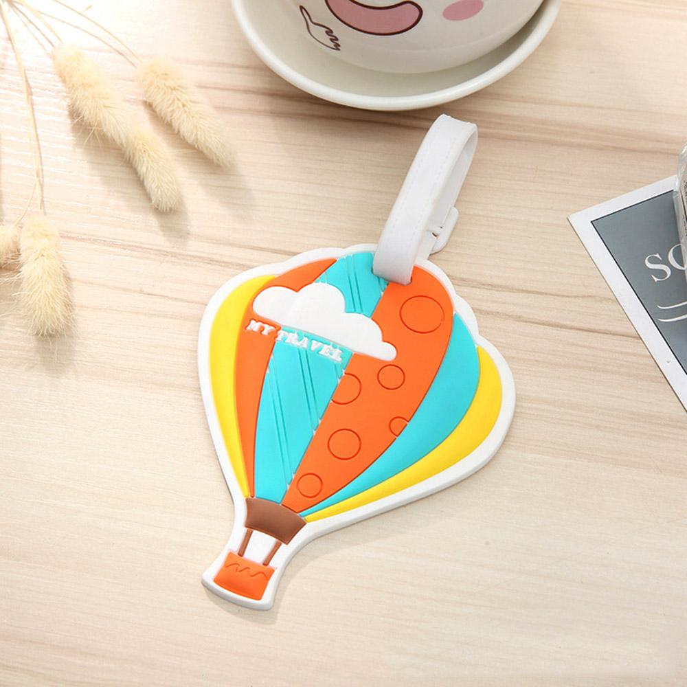 여행용 열기구 캐리어 네임택(오렌지) [제작 대량 도매 로고 인쇄 레이저 마킹 각인 나염 실크 uv 포장 공장 문의는 네이뽕]