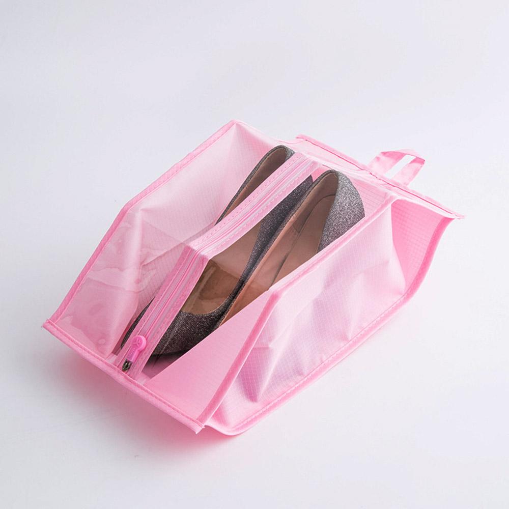 스톨백 멀티 신발주머니(핑크) [제작 대량 도매 로고 인쇄 레이저 마킹 각인 나염 실크 uv 포장 공장 문의는 네이뽕]
