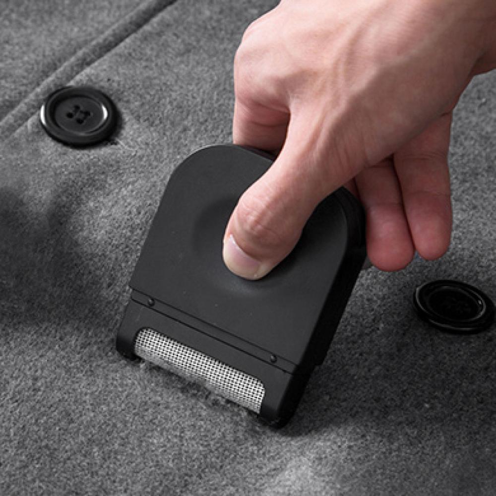 휴대용 의류 보풀제거기(블랙) [제작 대량 도매 로고 인쇄 레이저 마킹 각인 나염 실크 uv 포장 공장 문의는 네이뽕]