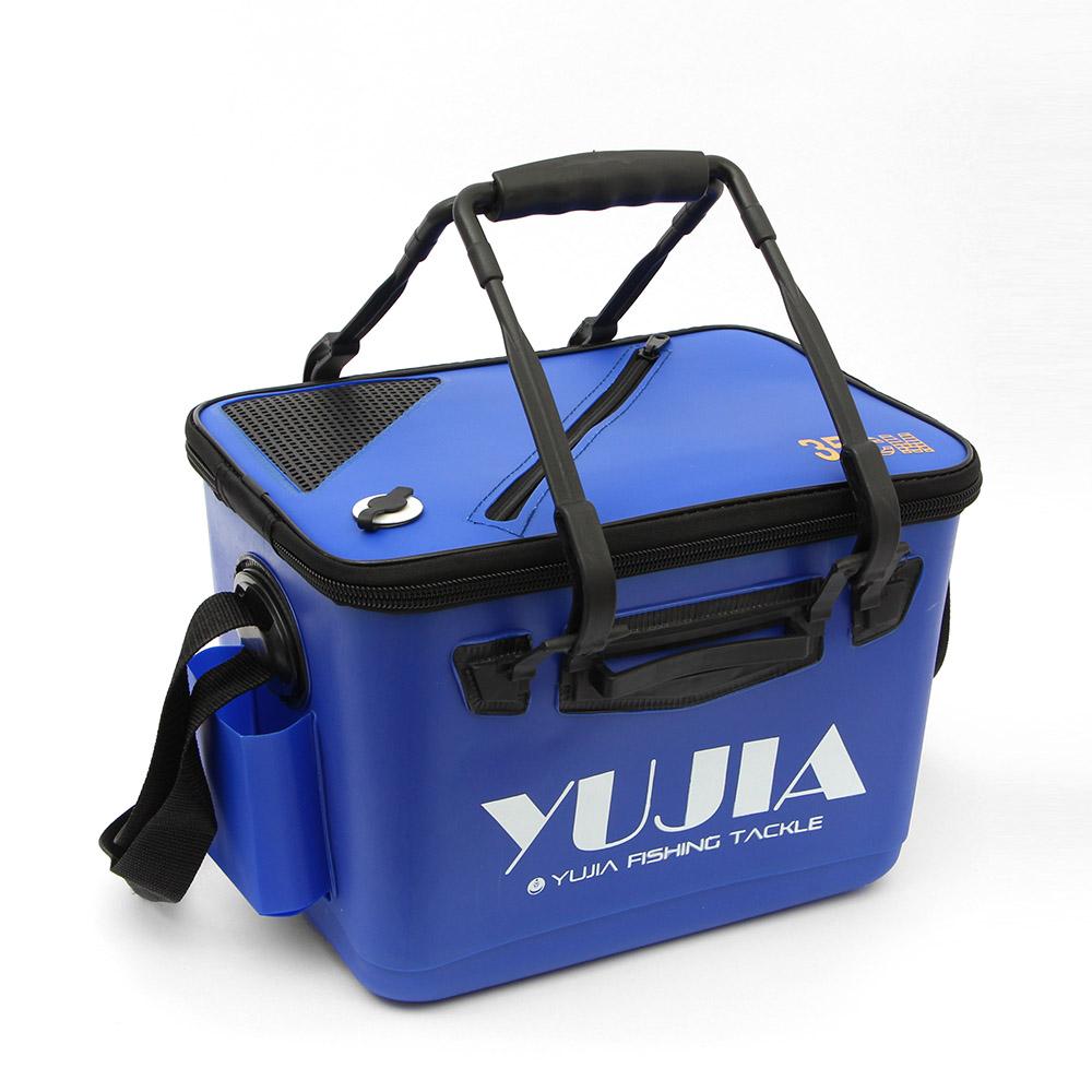 피쉬존 실용성 낚시 보조가방(블루) [제작 대량 도매 로고 인쇄 레이저 마킹 각인 나염 실크 uv 포장 공장 문의는 네이뽕]
