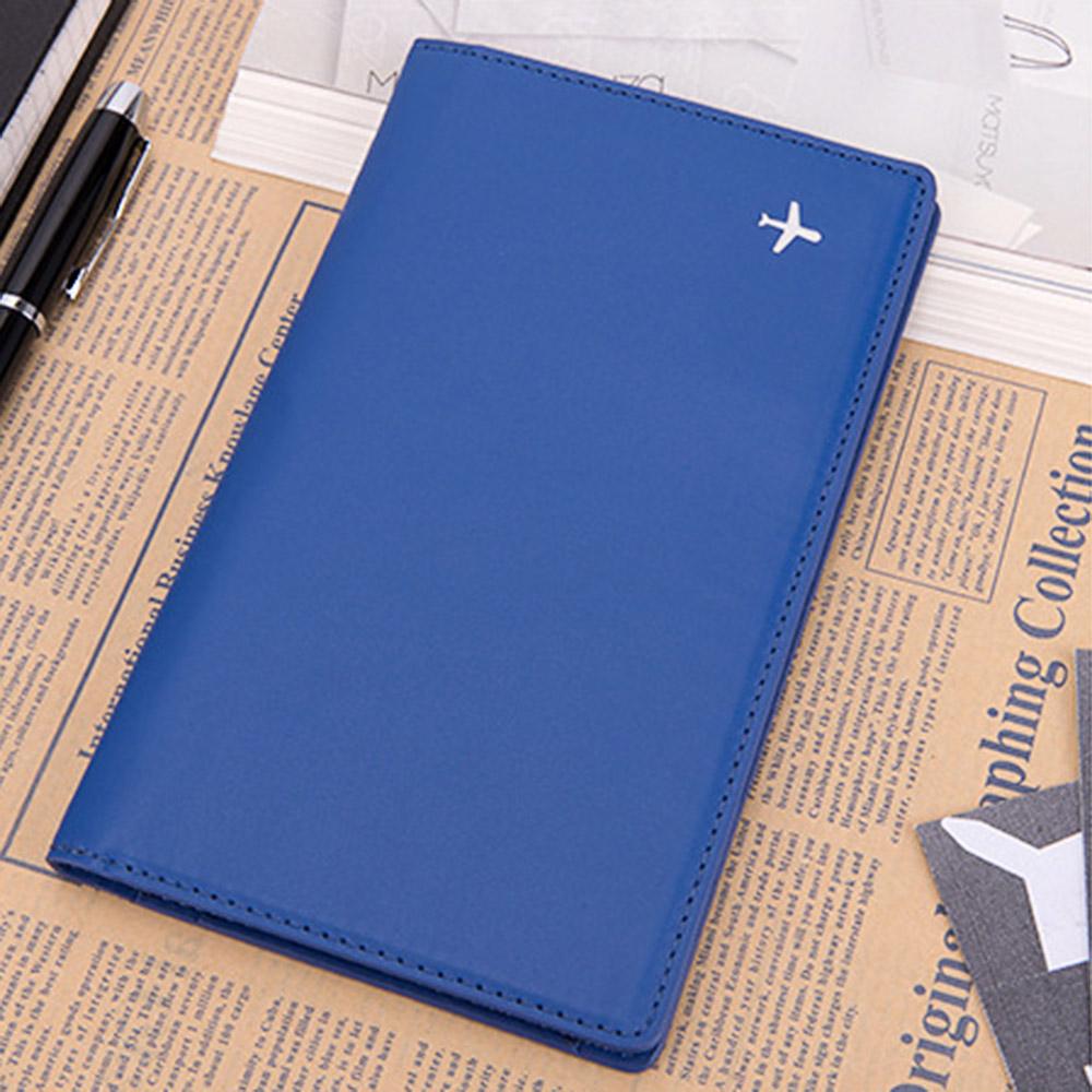 맨포스 에어플레인 여권케이스(블루) [제작 대량 도매 로고 인쇄 레이저 마킹 각인 나염 실크 uv 포장 공장 문의는 네이뽕]
