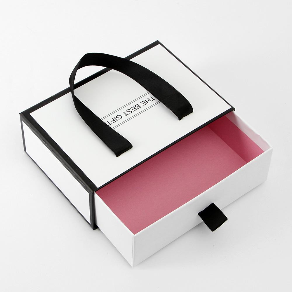 더베스트 선물상자 기프트백(화이트) (23cmx17cm) [제작 대량 도매 로고 인쇄 레이저 마킹 각인 나염 실크 uv 포장 공장 문의는 네이뽕]