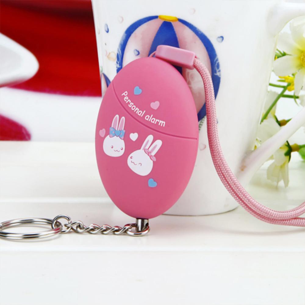 토끼캐릭터 호신용 경보기(핑크) [제작 대량 도매 로고 인쇄 레이저 마킹 각인 나염 실크 uv 포장 공장 문의는 네이뽕]