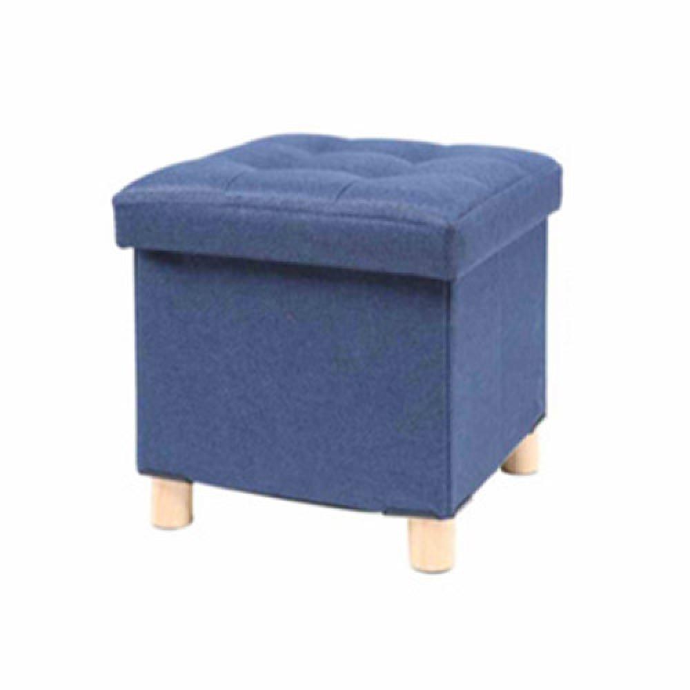 스툴스 소음 방지 수납 의자(블루) (31cm) [제작 대량 도매 로고 인쇄 레이저 마킹 각인 나염 실크 uv 포장 공장 문의는 네이뽕]