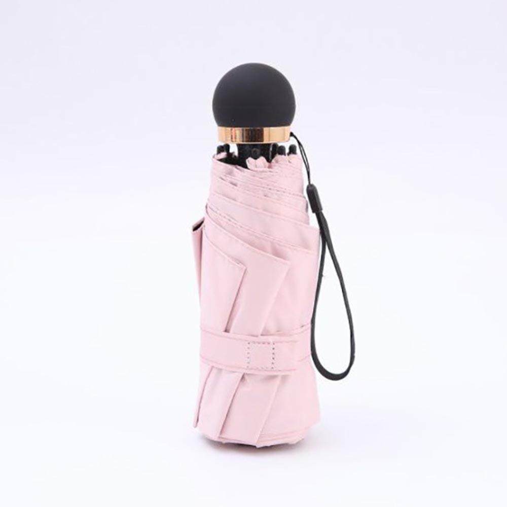 라이트필 5단 우산겸 양산(핑크) [제작 대량 도매 로고 인쇄 레이저 마킹 각인 나염 실크 uv 포장 공장 문의는 네이뽕]