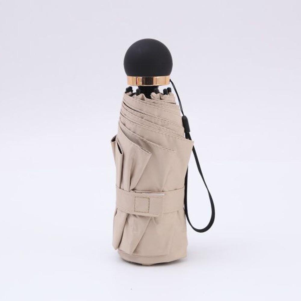 라이트필 5단 우산겸 양산(베이지) [제작 대량 도매 로고 인쇄 레이저 마킹 각인 나염 실크 uv 포장 공장 문의는 네이뽕]