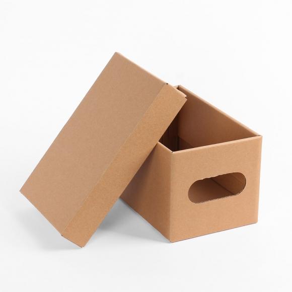 DIY 크라프트 수납 종이박스(24x15cm)