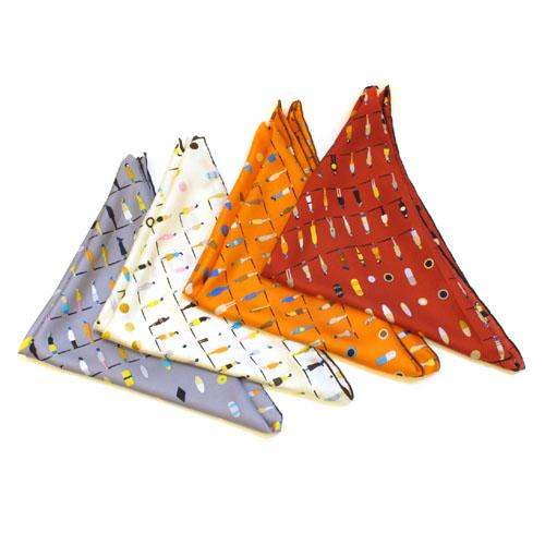 시티 피플즈 패션 실크 스카프(90cmx90cm) [제작 대량 도매 로고 인쇄 레이저 마킹 각인 나염 실크 uv 포장 공장 문의는 네이뽕]