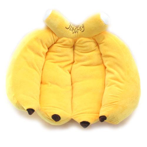 달콤한 미니 바나나 쿠션(40cmx34cm) [제작 대량 도매 로고 인쇄 레이저 마킹 각인 나염 실크 uv 포장 공장 문의는 네이뽕]