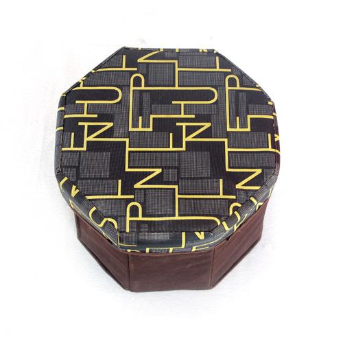 미니 8각 의자겸 수납함(24cmx24cmx17.5cm) [제작 대량 도매 로고 인쇄 레이저 마킹 각인 나염 실크 uv 포장 공장 문의는 네이뽕]