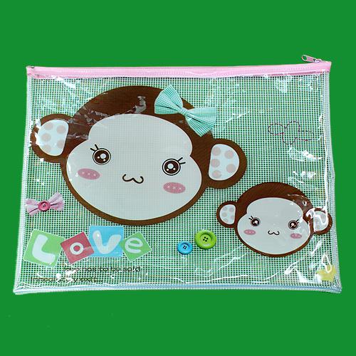 팬시 PVC 파우치D(32cmx22cm) [제작 대량 도매 로고 인쇄 레이저 마킹 각인 나염 실크 uv 포장 공장 문의는 네이뽕]