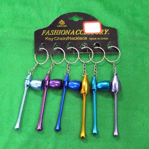 미니 담배 파이프 열쇠고리A-1(3cmx9cm) [제작 대량 도매 로고 인쇄 레이저 마킹 각인 나염 실크 uv 포장 공장 문의는 네이뽕]
