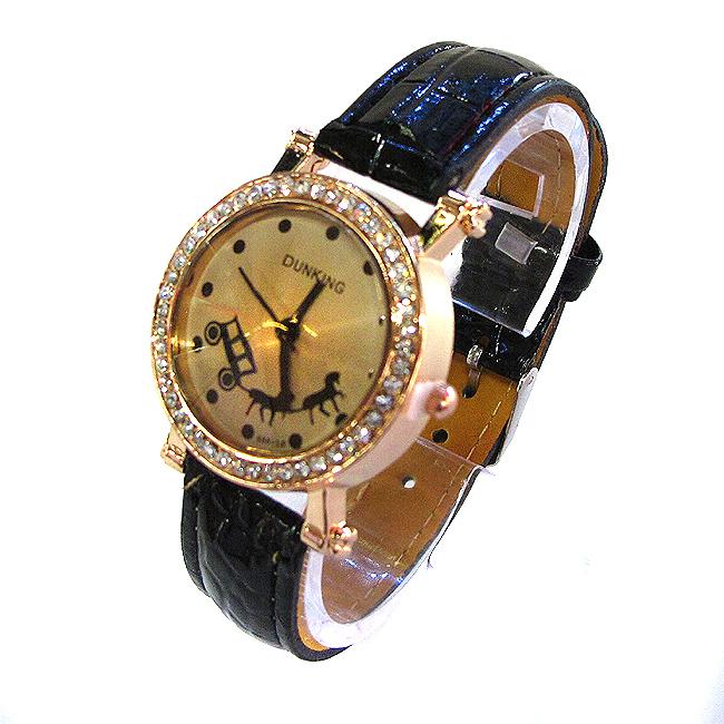 DUNKING 마칭 여성 손목시계 [제작 대량 도매 로고 인쇄 레이저 마킹 각인 나염 실크 uv 포장 공장 문의는 네이뽕]