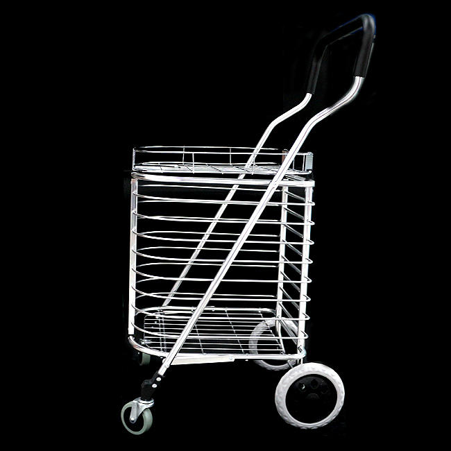 바구니형 핸드카트(대) [제작 대량 도매 로고 인쇄 레이저 마킹 각인 나염 실크 uv 포장 공장 문의는 네이뽕]