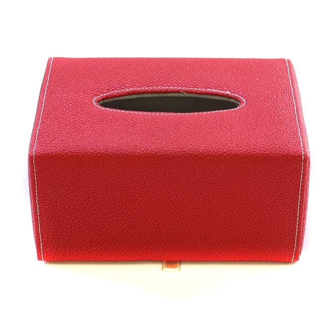 컬러 가죽 휴지 케이스 (19.5cmx13.5cmx9.2cm) [제작 대량 도매 로고 인쇄 레이저 마킹 각인 나염 실크 uv 포장 공장 문의는 네이뽕]