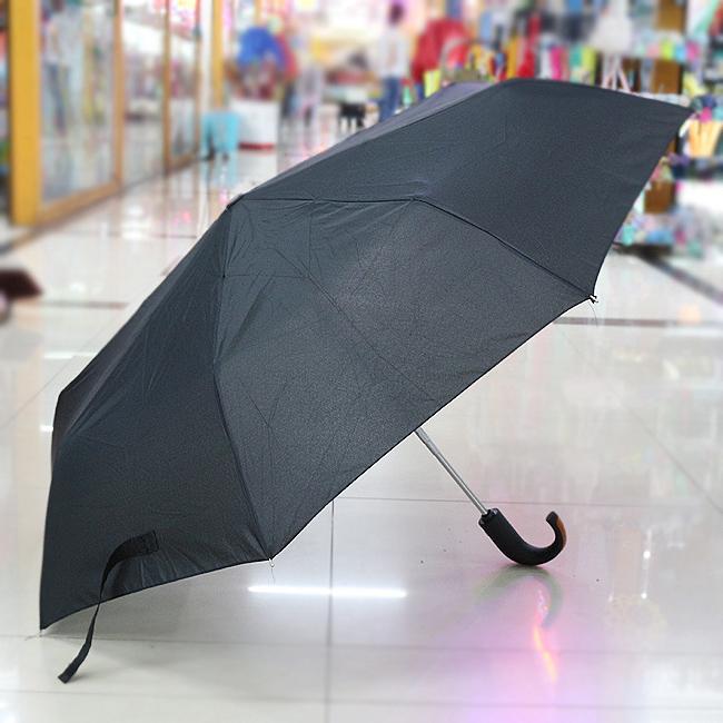 심플 젠틀맨 3단 완자동 우산(100cmx63cm/33cmx6cm) [제작 대량 도매 로고 인쇄 레이저 마킹 각인 나염 실크 uv 포장 공장 문의는 네이뽕]