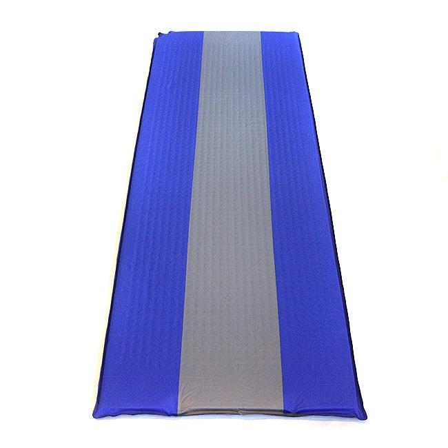 캠핑용 베이직 블루 매트리스(188cmx62cmx2cm/32cmx15cmx15cm) [제작 대량 도매 로고 인쇄 레이저 마킹 각인 나염 실크 uv 포장 공장 문의는 네이뽕]
