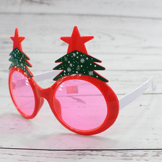 트리 안경(15cmx15cmx10cm) [제작 대량 도매 로고 인쇄 레이저 마킹 각인 나염 실크 uv 포장 공장 문의는 네이뽕]