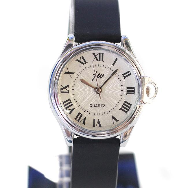 소프트밴드 여성 손목시계(화이트) (3cmx21cm) [제작 대량 도매 로고 인쇄 레이저 마킹 각인 나염 실크 uv 포장 공장 문의는 네이뽕]