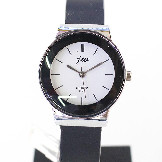 모던 심플 여성 손목시계(화이트) (3cmx21cm) [제작 대량 도매 로고 인쇄 레이저 마킹 각인 나염 실크 uv 포장 공장 문의는 네이뽕]