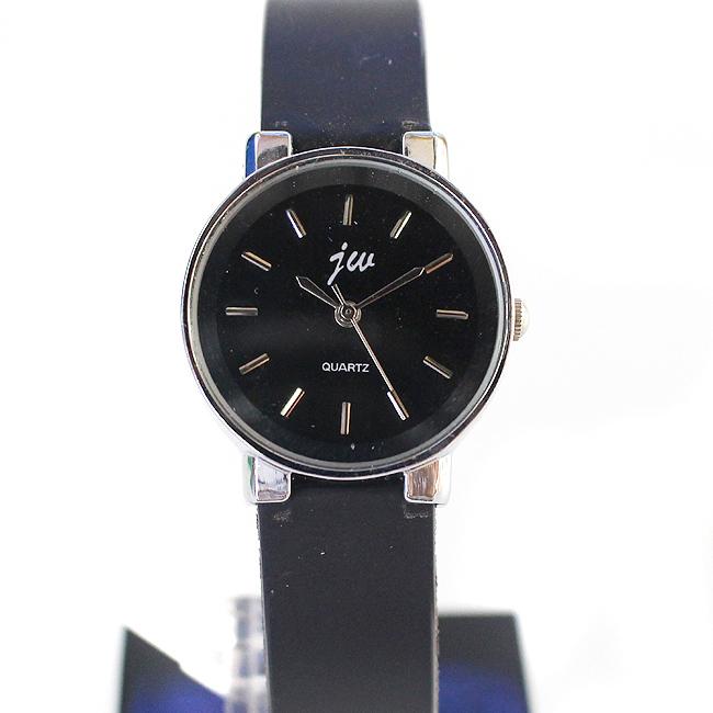 모던 아날로그 여성 손목시계(블랙) (2.8cmx21cm) [제작 대량 도매 로고 인쇄 레이저 마킹 각인 나염 실크 uv 포장 공장 문의는 네이뽕]