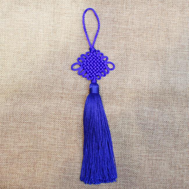 전통 노리개(파랑) [제작 대량 도매 로고 인쇄 레이저 마킹 각인 나염 실크 uv 포장 공장 문의는 네이뽕]