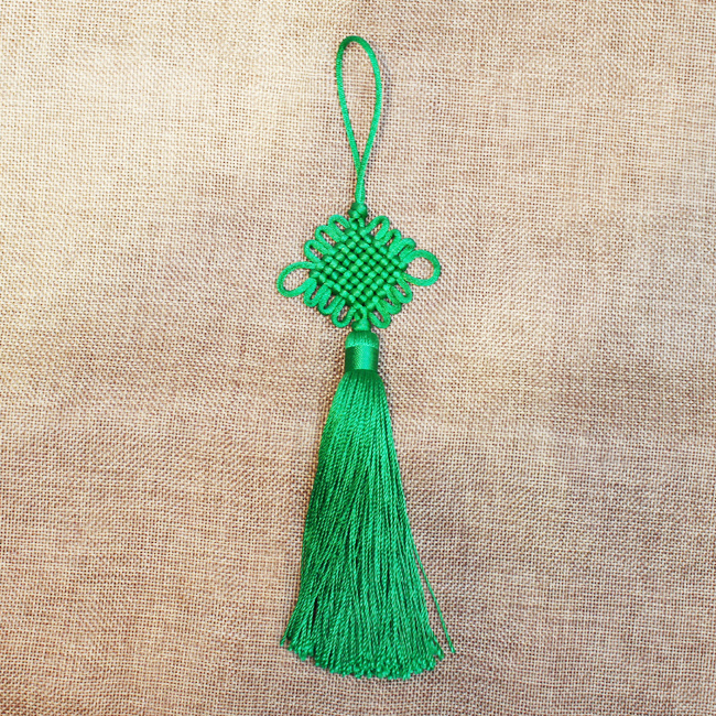 전통 노리개(초록) [제작 대량 도매 로고 인쇄 레이저 마킹 각인 나염 실크 uv 포장 공장 문의는 네이뽕]