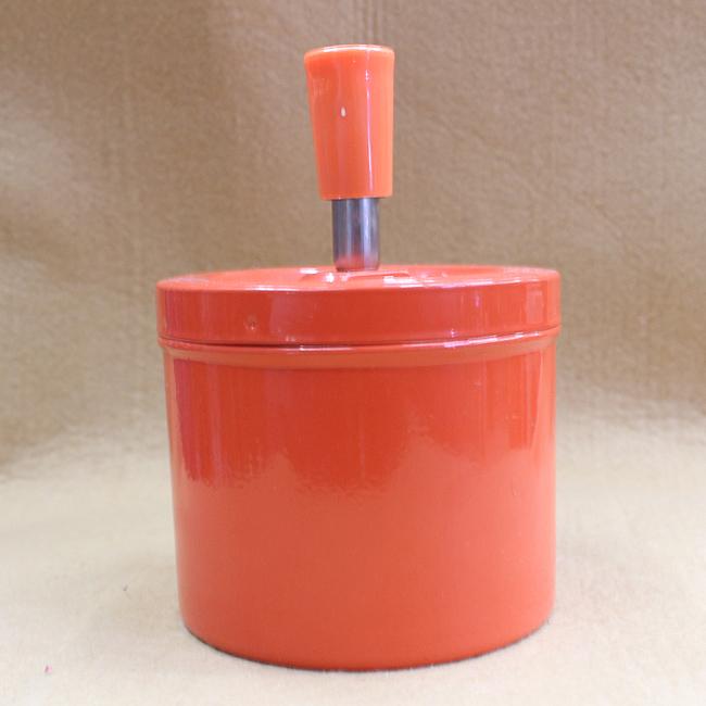 회오리 재떨이A(오렌지) [제작 대량 도매 로고 인쇄 레이저 마킹 각인 나염 실크 uv 포장 공장 문의는 네이뽕]