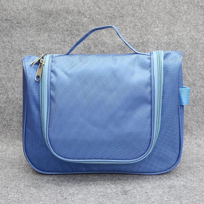트래블 멀티 파우치(블루) [제작 대량 도매 로고 인쇄 레이저 마킹 각인 나염 실크 uv 포장 공장 문의는 네이뽕]