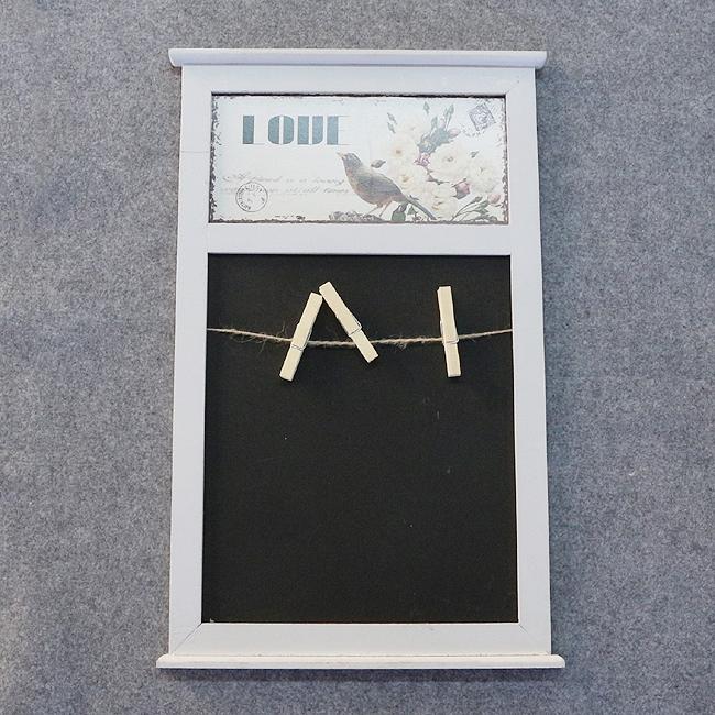 벽걸이 집게 메모보드B [제작 대량 도매 로고 인쇄 레이저 마킹 각인 나염 실크 uv 포장 공장 문의는 네이뽕]