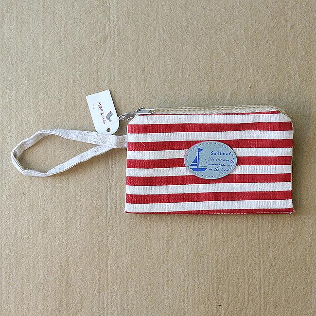 스트라이프 동전지갑 [제작 대량 도매 로고 인쇄 레이저 마킹 각인 나염 실크 uv 포장 공장 문의는 네이뽕]