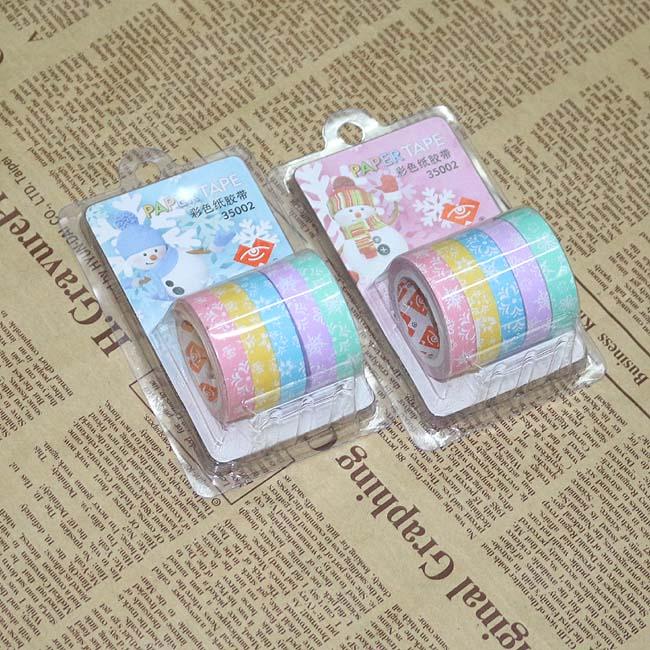 눈꽃 롤 접착 메모지 리필용(1cmx5m) [제작 대량 도매 로고 인쇄 레이저 마킹 각인 나염 실크 uv 포장 공장 문의는 네이뽕]