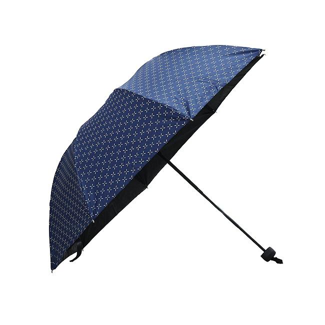 네모 라인 3단 양산겸 우산 [제작 대량 도매 로고 인쇄 레이저 마킹 각인 나염 실크 uv 포장 공장 문의는 네이뽕]