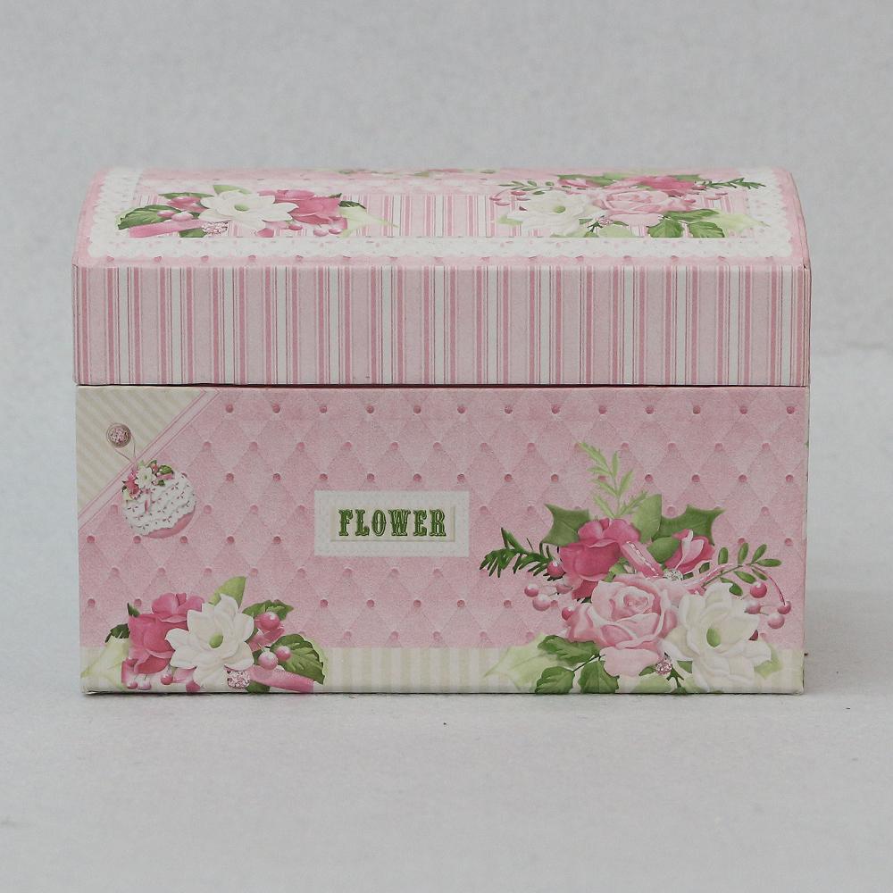 핑크 블라썸 메이크업 박스(14cmx10cmx10cm) [제작 대량 도매 로고 인쇄 레이저 마킹 각인 나염 실크 uv 포장 공장 문의는 네이뽕]