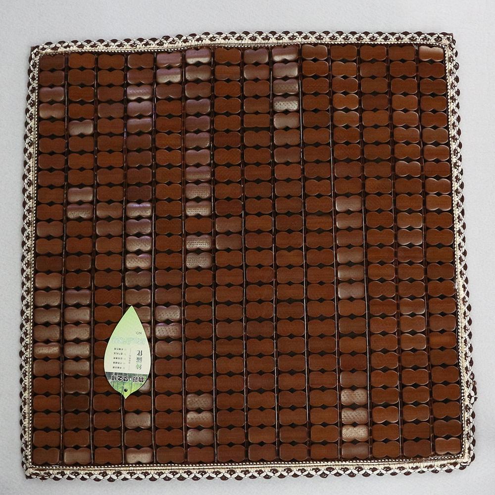 쿨링히트 대나무 방석(45cm) [제작 대량 도매 로고 인쇄 레이저 마킹 각인 나염 실크 uv 포장 공장 문의는 네이뽕]
