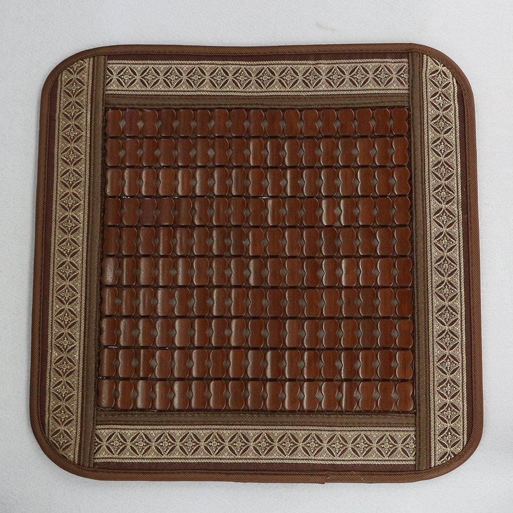 쿨링히트 엔틱 대나무 방석 B(43cm) [제작 대량 도매 로고 인쇄 레이저 마킹 각인 나염 실크 uv 포장 공장 문의는 네이뽕]