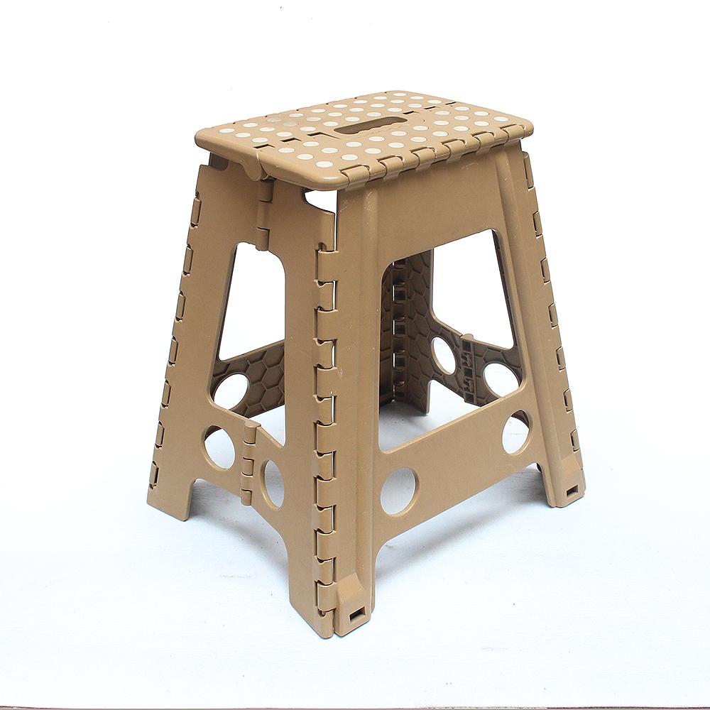 화이트 도트 접이식 의자 C [제작 대량 도매 로고 인쇄 레이저 마킹 각인 나염 실크 uv 포장 공장 문의는 네이뽕]