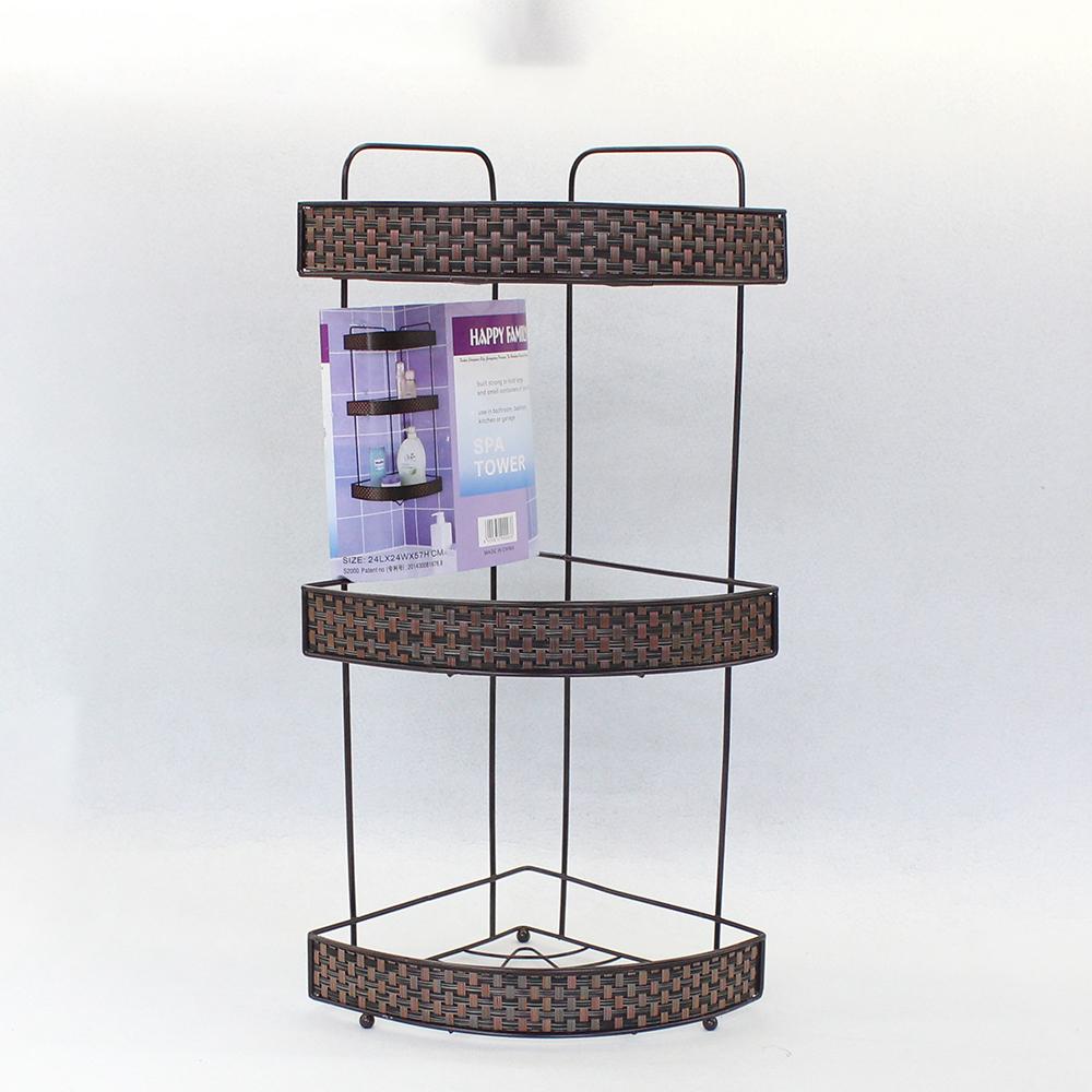 3단 엔틱 코너선반 (부채꼴) (소) [제작 대량 도매 로고 인쇄 레이저 마킹 각인 나염 실크 uv 포장 공장 문의는 네이뽕]
