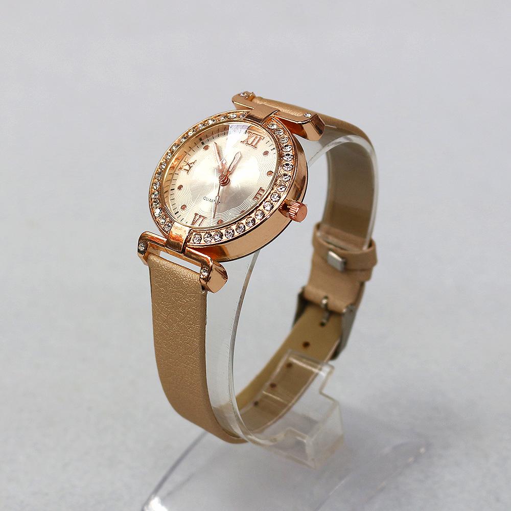 라운드 큐빅 여성손목시계(24cmx4cm) (A) [제작 대량 도매 로고 인쇄 레이저 마킹 각인 나염 실크 uv 포장 공장 문의는 네이뽕]