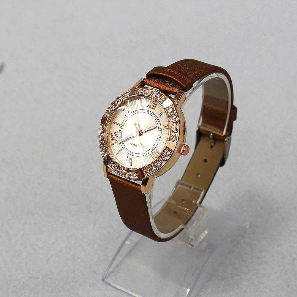 라운드 큐빅 여성손목시계(24cmx4cm) (B) [제작 대량 도매 로고 인쇄 레이저 마킹 각인 나염 실크 uv 포장 공장 문의는 네이뽕]