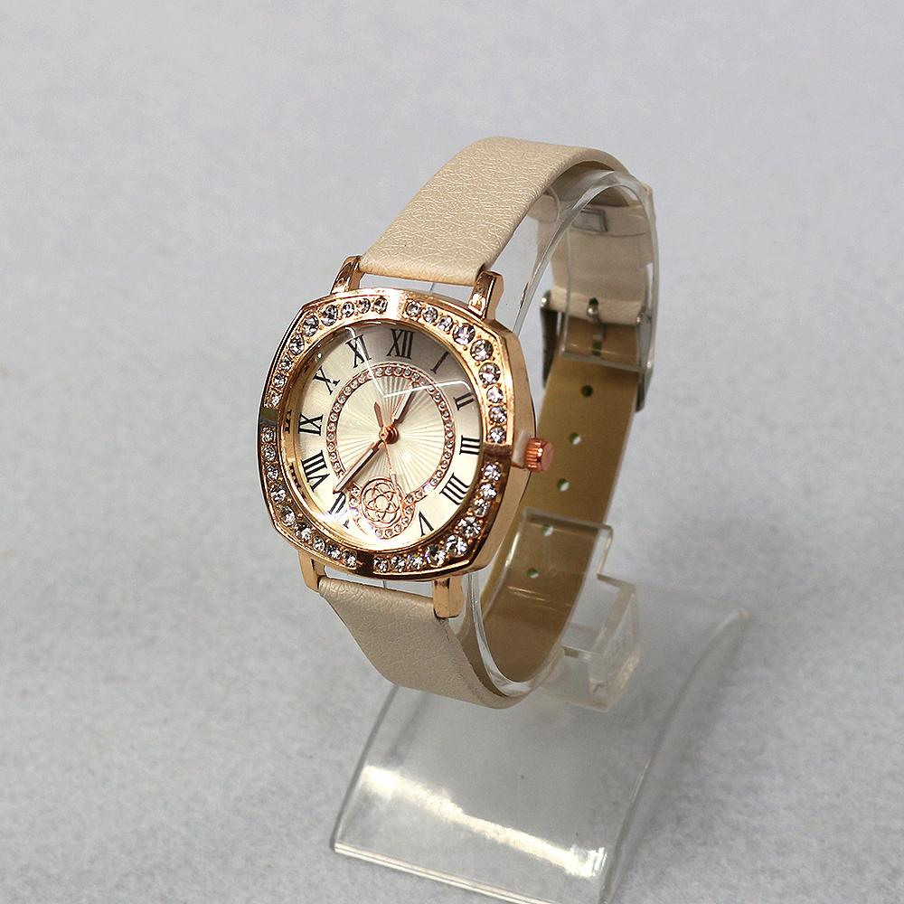 라운드 큐빅 여성손목시계(24cmx4cm) (C) [제작 대량 도매 로고 인쇄 레이저 마킹 각인 나염 실크 uv 포장 공장 문의는 네이뽕]