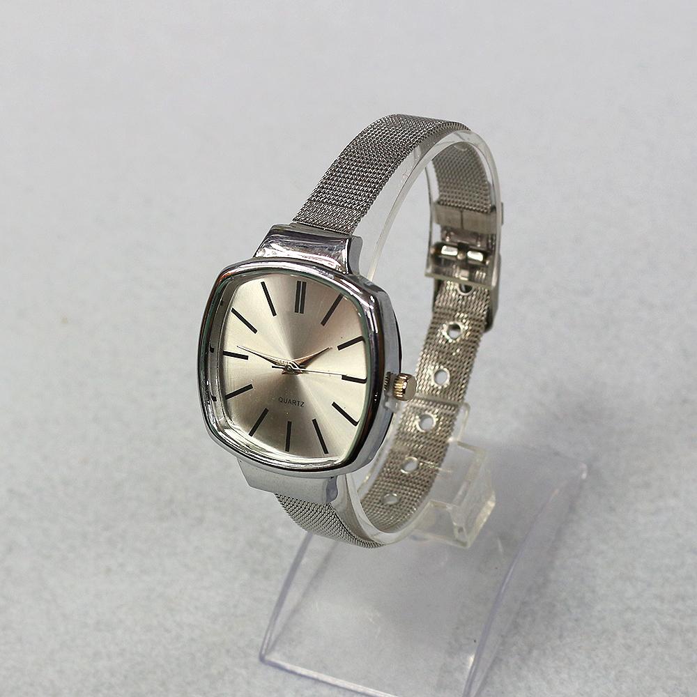 체인 스퀘어 여성손목시계(23cmx3.5cm) (A) [제작 대량 도매 로고 인쇄 레이저 마킹 각인 나염 실크 uv 포장 공장 문의는 네이뽕]