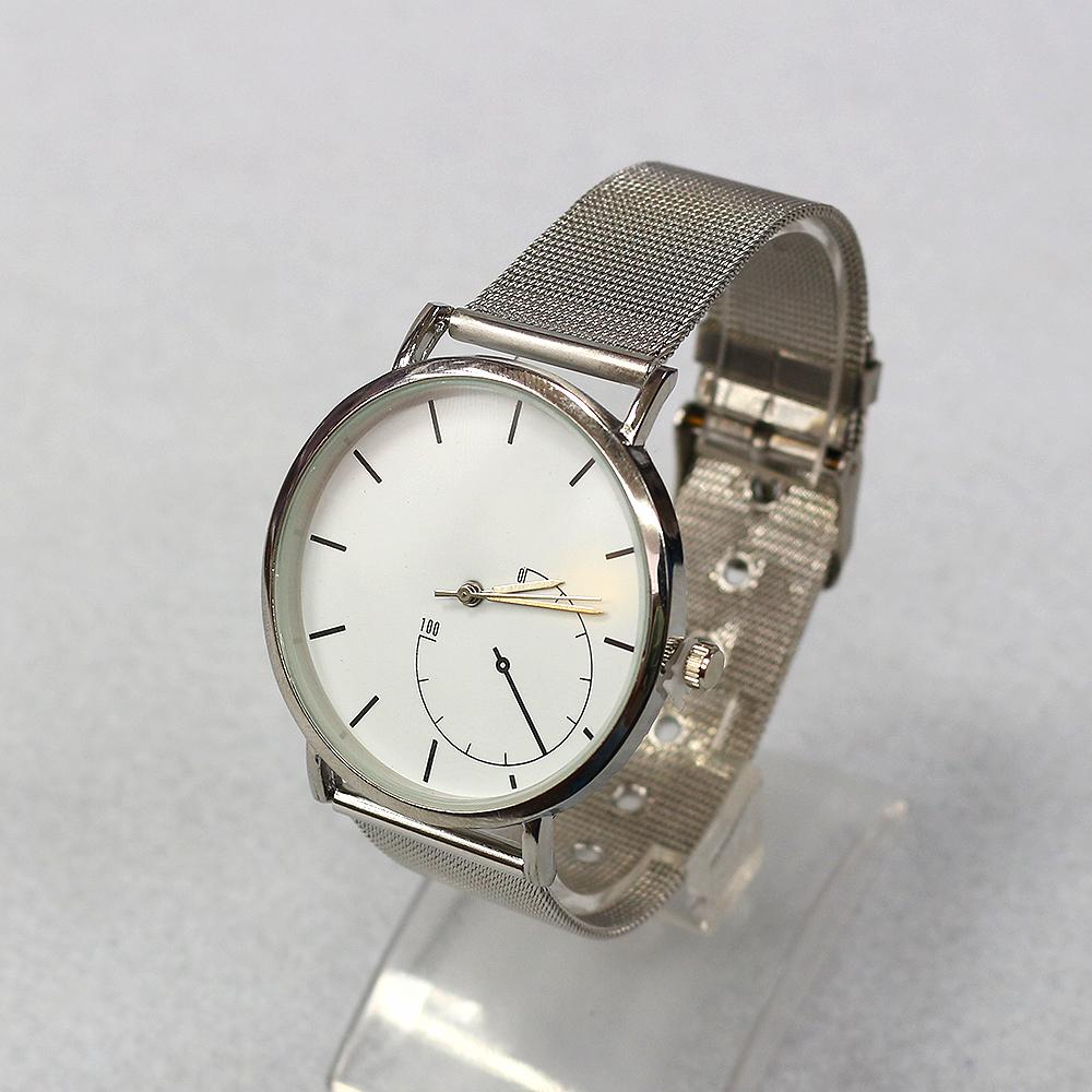 체인 써클 손목시계(22cmx4cm) (B) [제작 대량 도매 로고 인쇄 레이저 마킹 각인 나염 실크 uv 포장 공장 문의는 네이뽕]
