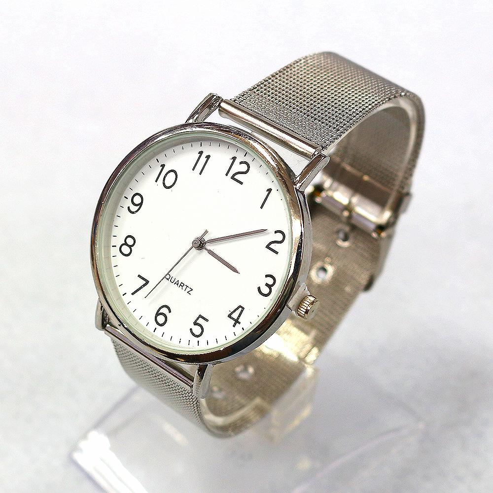 체인 써클 손목시계(22cmx4cm) (C) [제작 대량 도매 로고 인쇄 레이저 마킹 각인 나염 실크 uv 포장 공장 문의는 네이뽕]