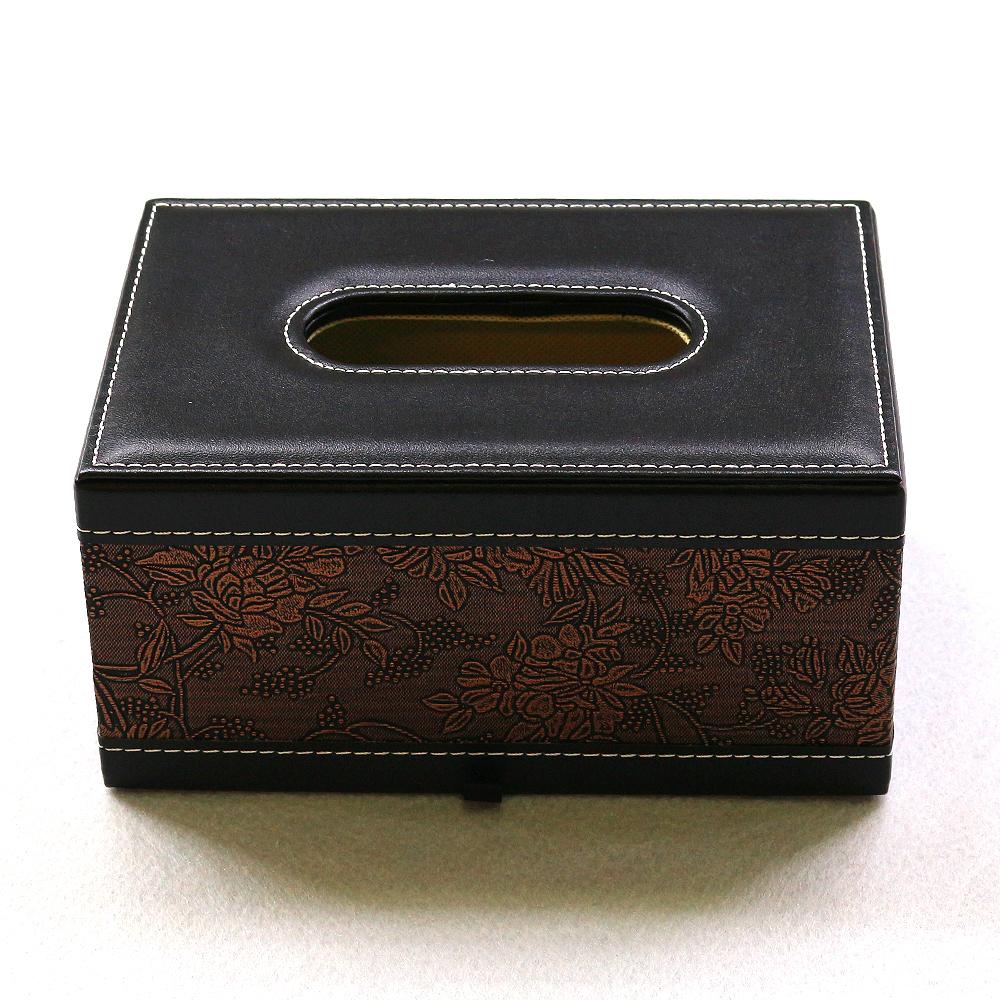 상구화선 휴지케이스(블랙) (소) [제작 대량 도매 로고 인쇄 레이저 마킹 각인 나염 실크 uv 포장 공장 문의는 네이뽕]