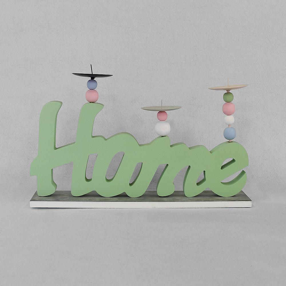 홈 캔들홀더(그린) [제작 대량 도매 로고 인쇄 레이저 마킹 각인 나염 실크 uv 포장 공장 문의는 네이뽕]