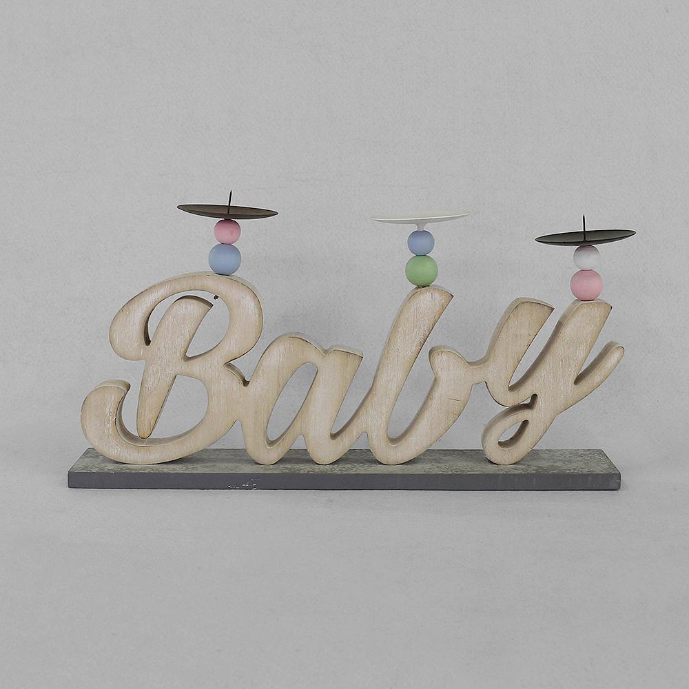 베이비 캔들홀더(엔틱) [제작 대량 도매 로고 인쇄 레이저 마킹 각인 나염 실크 uv 포장 공장 문의는 네이뽕]