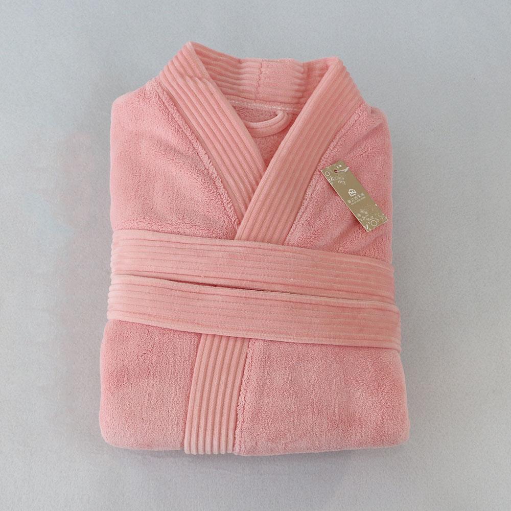 뽀송 핑크 목욕가운(여성용) [제작 대량 도매 로고 인쇄 레이저 마킹 각인 나염 실크 uv 포장 공장 문의는 네이뽕]
